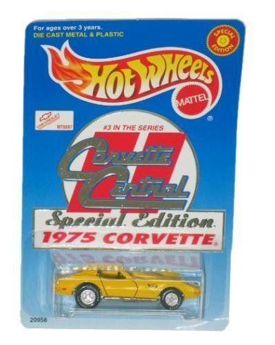 1975 Corvette Central Special Edition 1/64th Collectible by Hot Wheels. #Corvette #Central #Special #Edition #Collectible #Wheels