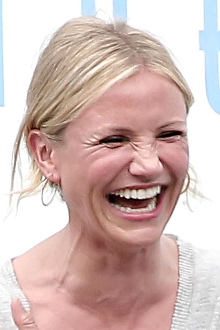 If I dared it would be Cameron Diaz's laughter I would let loose...and not worry about not looking like her, not even think about it!