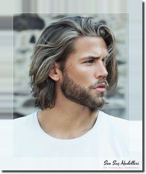 Bayanlarin En Cok Dikkatini Ceken Uzun Dalgali Erkek Sac Modelleri