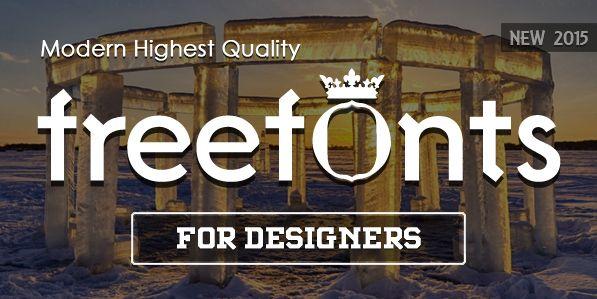 Freebie Friday: Fonts Galore UX Jobs 24 / 7 A User Experience focused job board.   #ux #freebies