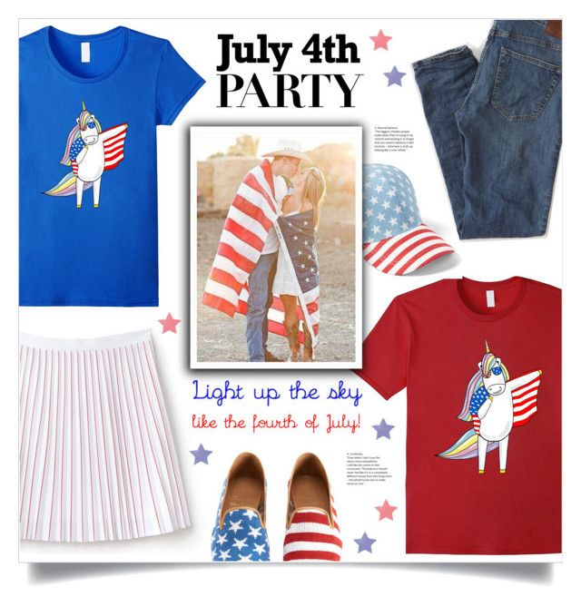 Light Up The Sky Like The Forth Of July by mahafromkailash on Polyvore featuring Lacoste, BP. and Abercrombie & Fitch