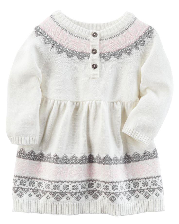 Baby Girl Sweater Dress | Carters.com