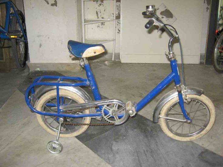 bici graziella con le rotelle (io l'avevo)