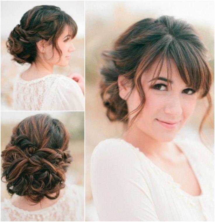 beautifully elegant updo  wedding  hairstyles  modwedding