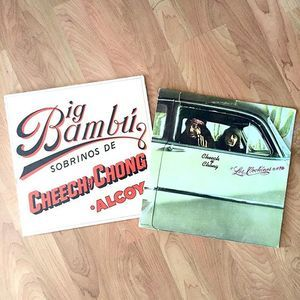 Rarely see these around. I don't pick up comedy albums very often.. But these are iconic.  Cheech & Chong /Big Bambú /1972. Cheech Y Chong / Los Cochinos / 1974.  #recordjunkie #recordcollection #cheechandchong