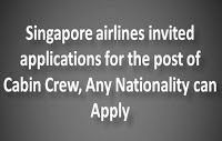 Opportunity to Become a Cabin Crew in Singapore Airlines