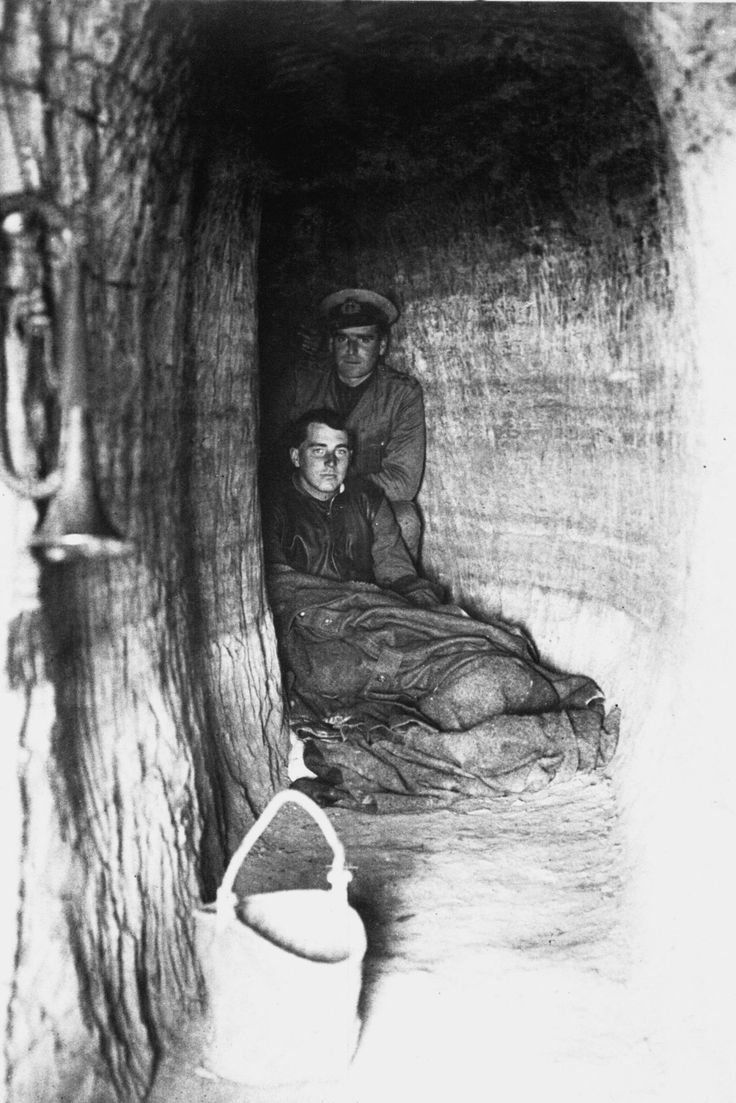 O To Ww Bing Comsquare Root 123: British Troops In Bombproof Shelter, Dardanelles Campaign