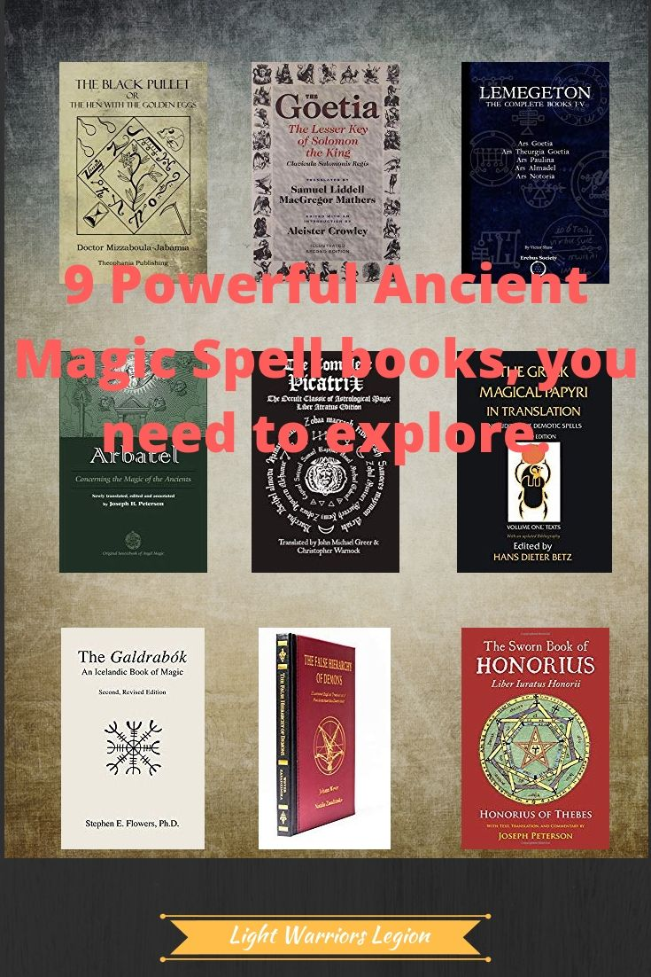 9 Powerful Ancient Magic Spell Books You Need To Explore Magic