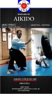 Aikido  Mendoza Iwama : Seminario 2016 - Ariel Peréz- Aikido Mendoza
