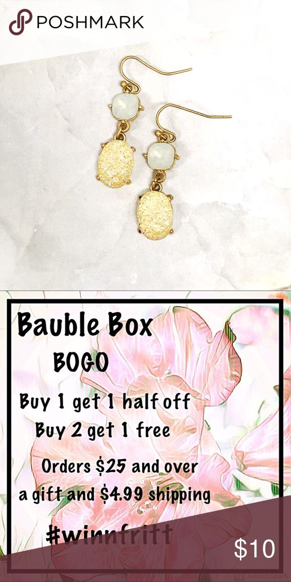 BOGO💫Druzy Blue and Apricot All items are buy 1 get 1 half off or buy 2 and g… – My Posh Picks