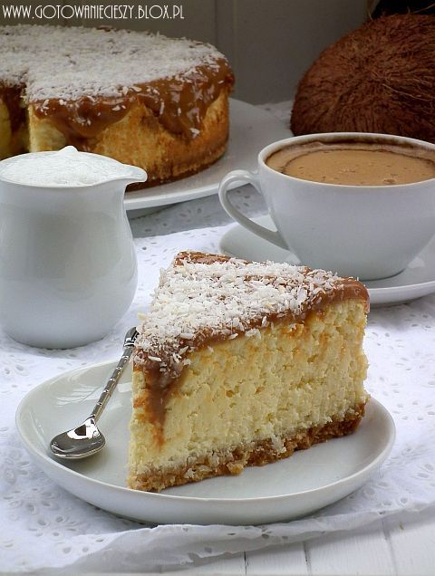 Coconut Cheesecake--which I'll make as soon as I can Google Translate this website.