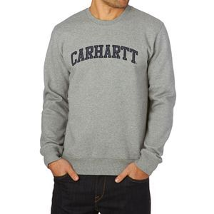Carhartt Sweatshirts - Carhartt Yale Sweatshirt  - Grey Heather / Navy