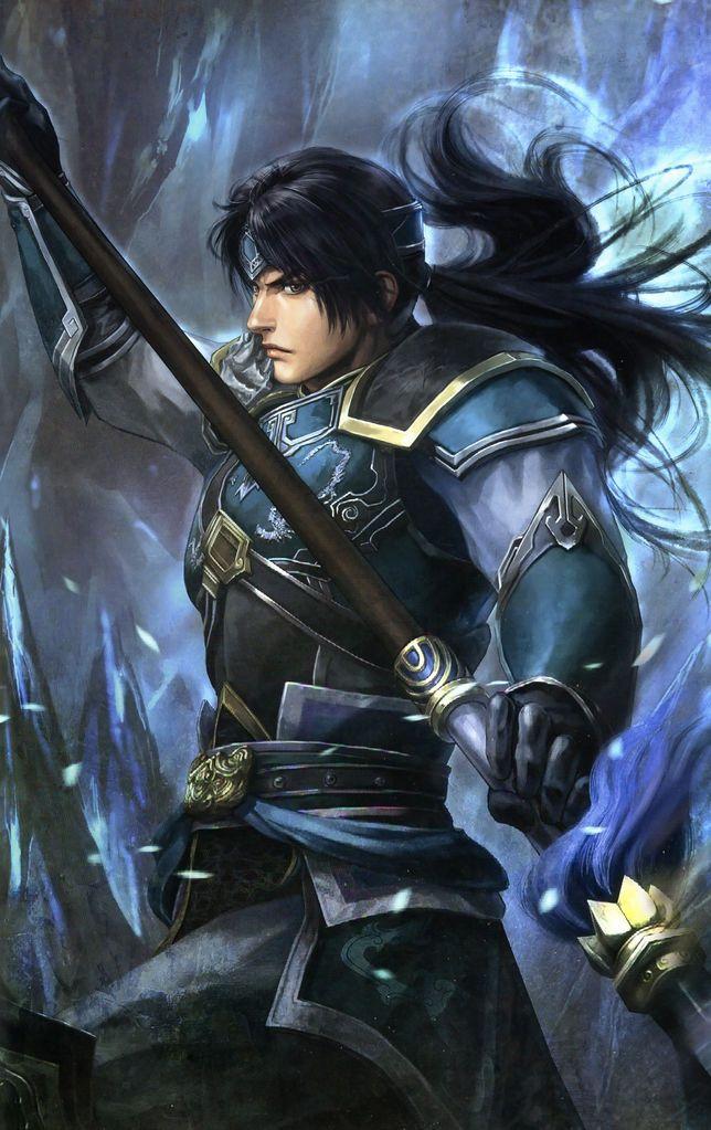 Zhao Yun   Character art, Fantasy warrior, Dynasty warriors