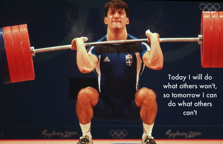 Pyrros Dimas. One of the best Olympic lifters