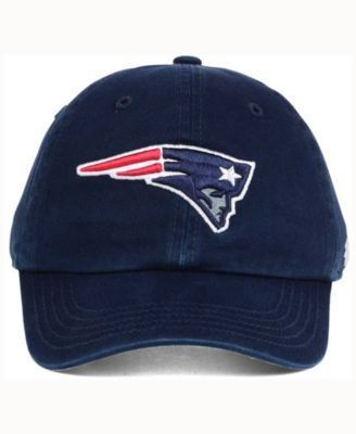 '47 Brand Kids' New England Patriots Clean Up Cap - Blue Youth