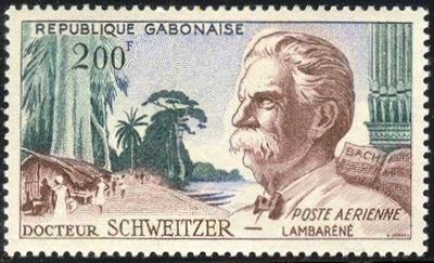 Docteur Schweitzer, République Gabonaise