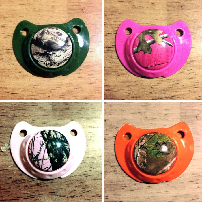 Camo Baby Putty Pacifiers