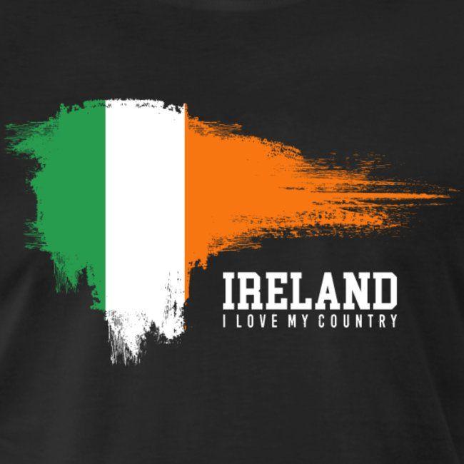 Ireland Men S Premium T Shirt Ireland Flag Flag Live
