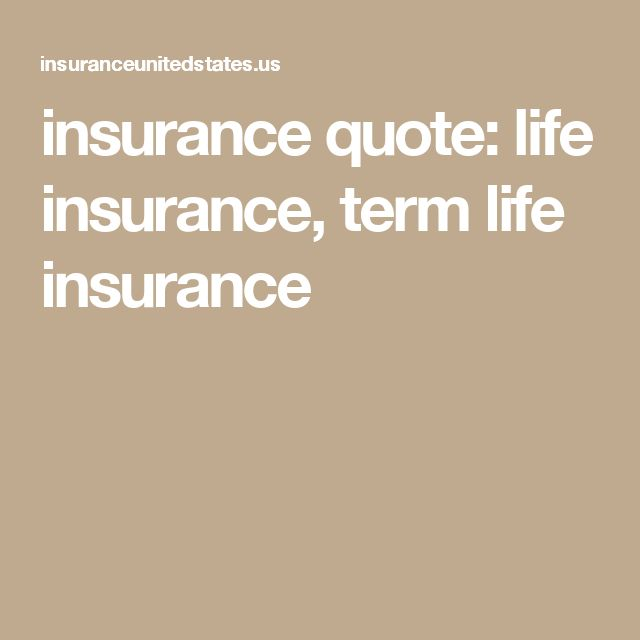 Term Life Insurance Quote Gorgeous 7 Best Insurance Quote Home Life Business Auto Health Insurance . 2017