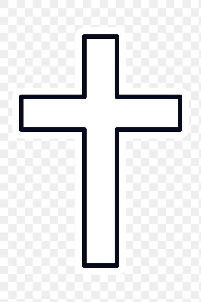 The Christian Cross Sticker Design Element Free Image By Rawpixel Com Ningzk V Sticker Design Design Element Aesthetic Iphone Wallpaper