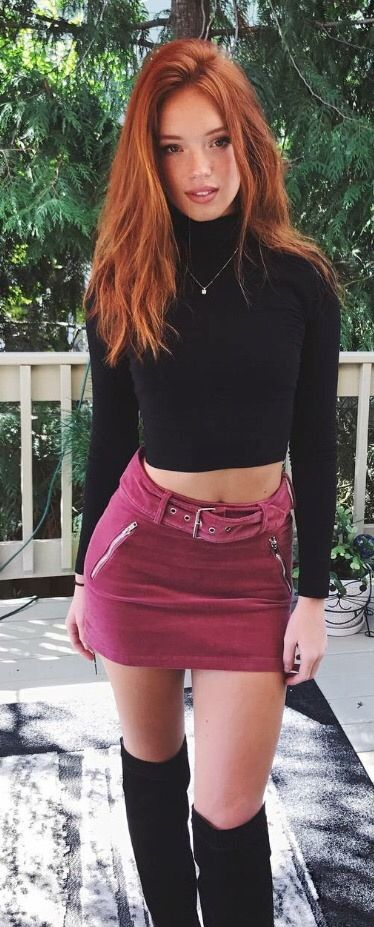 Good phrase redhead freckled mini skirt Certainly. All