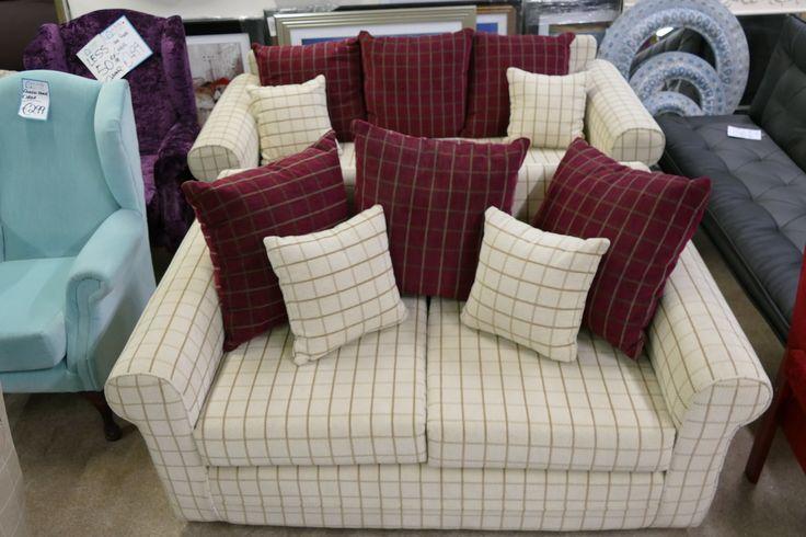 Check 3 + 2 Sofa Suite