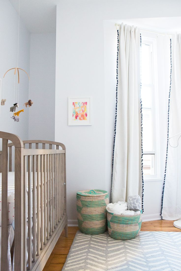 Neutral Baby Nursery #nursery #decor #baby