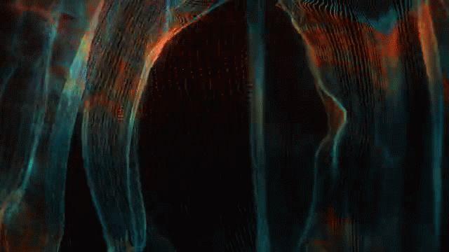 480,000 Partikel stürzen euch in eine audio-reaktive Visualisierung | The Creators Project