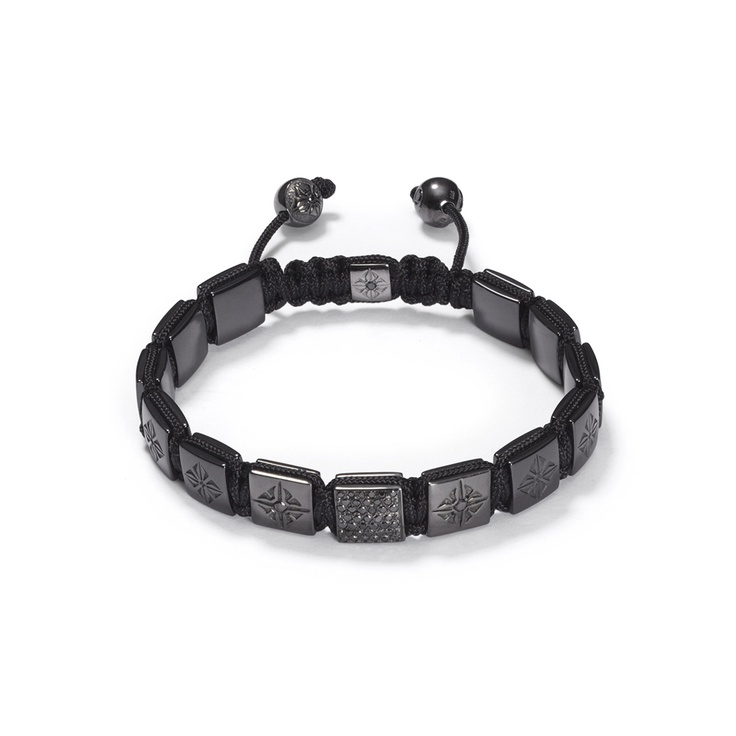 Black Gold Lock Bracelet
