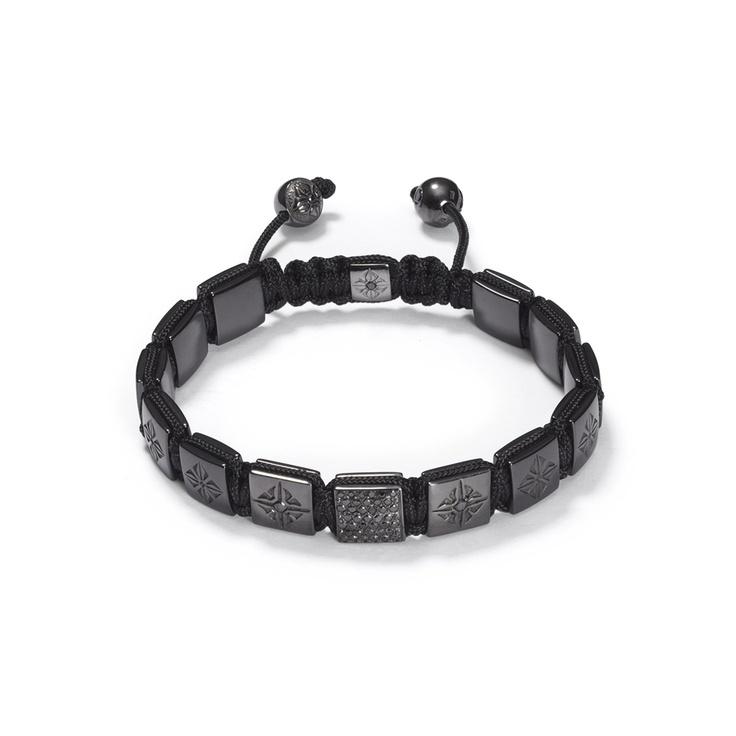 Black Gold Lock Bracelet