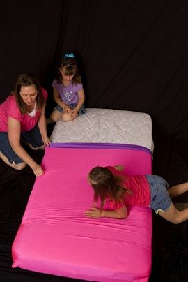 Lycra bed sheets from Skweezrs :) Sensory Processing Disorder Parent Support