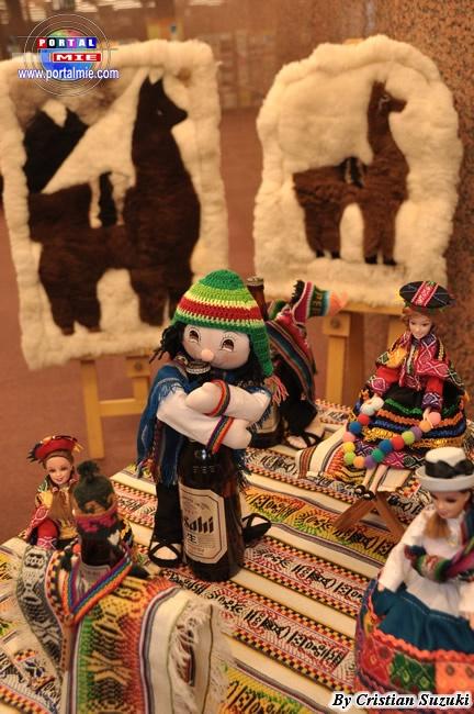 Peru; llama rugs, etc.