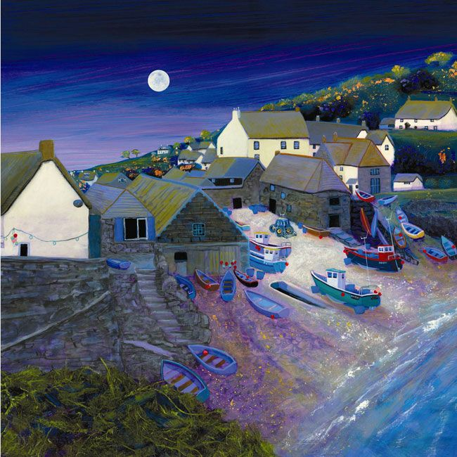 Cadgwith Moonlight | Gilly Johns