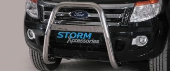 Ford Ranger T6 High Front A-Bar Stainless Steel (2012 on)