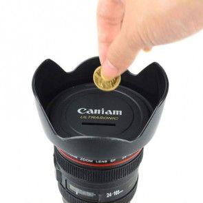 Cameralens spaarpot €15