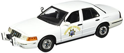 Motormax 1:18 Ford Crown Victoria California Highway Patrol Car, White by Motormax, http://www.amazon.com/dp/B01F9OLCCQ/ref=cm_sw_r_pi_dp_x_LFlCzb153SYK3