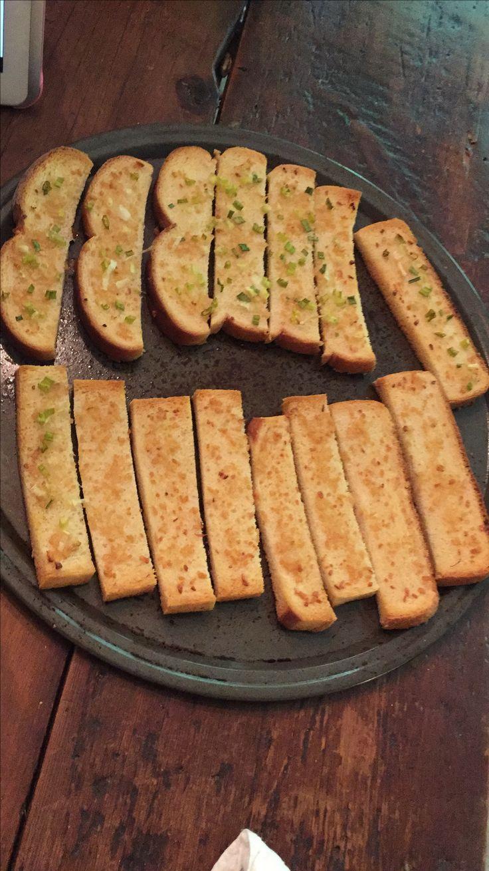 Garlic & green onion bread
