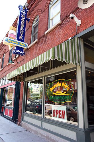 Take a trip to St. Louis and eat @ Sweetie Pie's on the corner of Tower Grove and Manchester.  It used to be a Carp's Department Store back in the day.