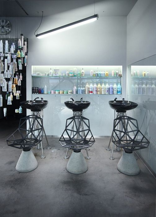 Jan plech a henry wielgus joshua hair saloon slu by for Salon design paris