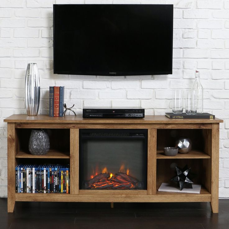 Belham Living Dawson 58 In Fireplace TV Stand