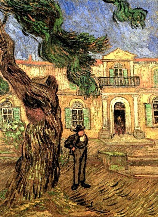 Van Gogh, ...hospital Saint Paul.