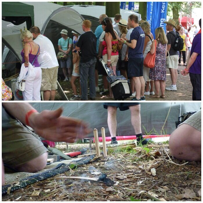 June and July are time for County shows all over the country. This year at the end of June I agreed to help my good friend Phil Brown out at the Kent County Show. Phil runs his own bushcraft compan…