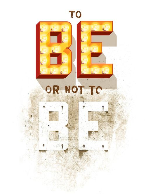 To Be Or Not To Be by Jeff Rogers