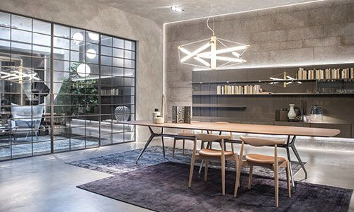 At the Milan 2016 Furniture Fair Rimadesio revealed beautiful new additions to their furniture and door collection including Soho sliding doors and Planet coffee tables. #Rimadesio #Furniture #Slidingdoors