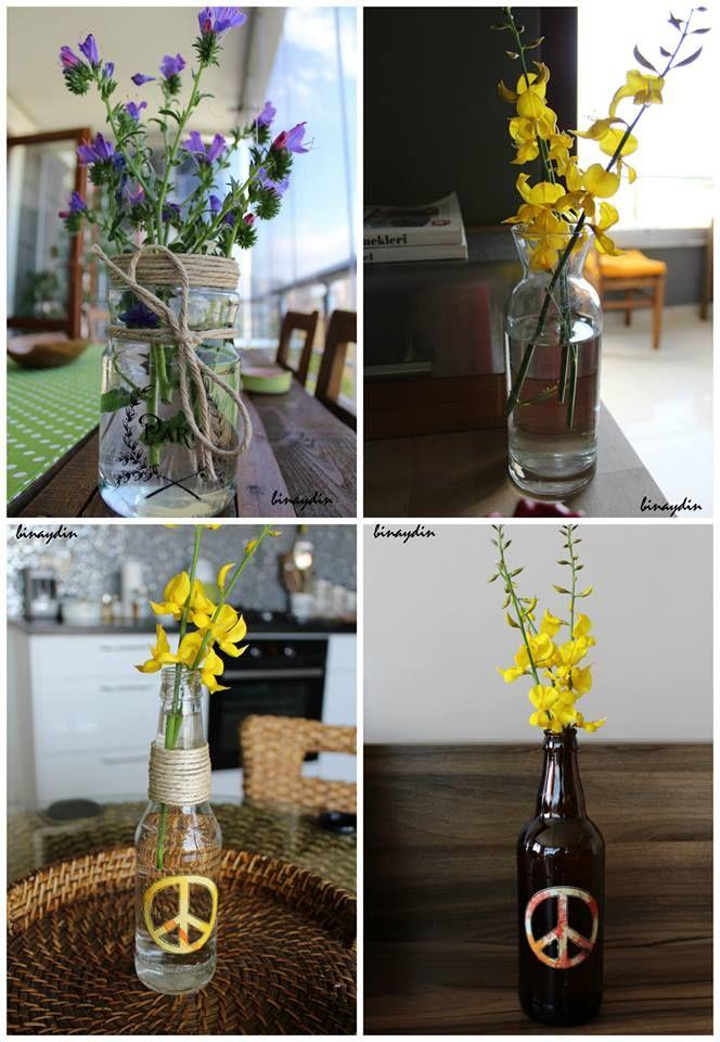 vase , flowers , çiçek , vazo , diy
