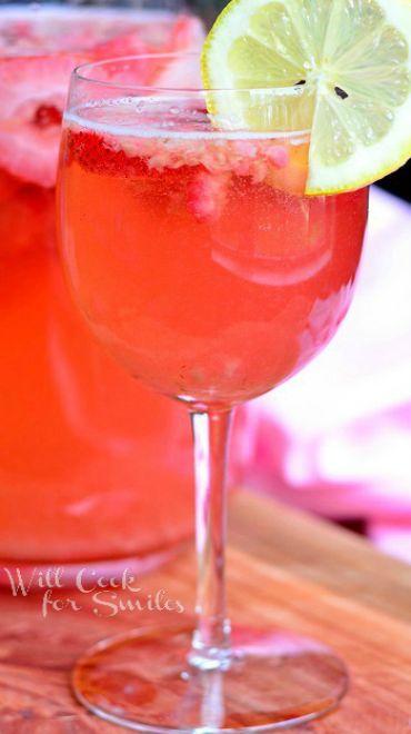 Pink Berry Sangria Recipe
