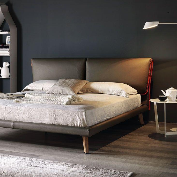 Die besten 25+ Kopfteil aus Leder Ideen auf Pinterest Lederbett - italienische schlafzimmer komplett