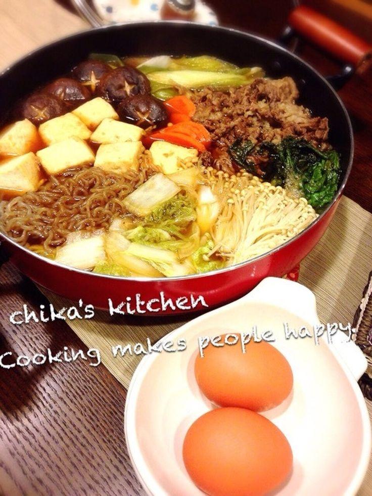 お鍋の王様‼  すき焼きの割り下黄金比♡ by ちゃんちー | レシピサイト「Nadia | ナディア」プロの料理を無料で検索