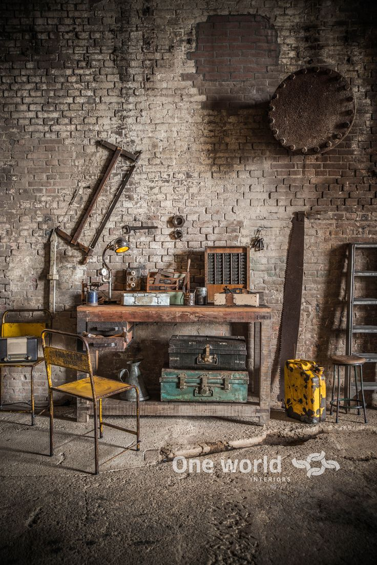 One World Interiors - Factory work bench - Picture: Paulina Arcklin