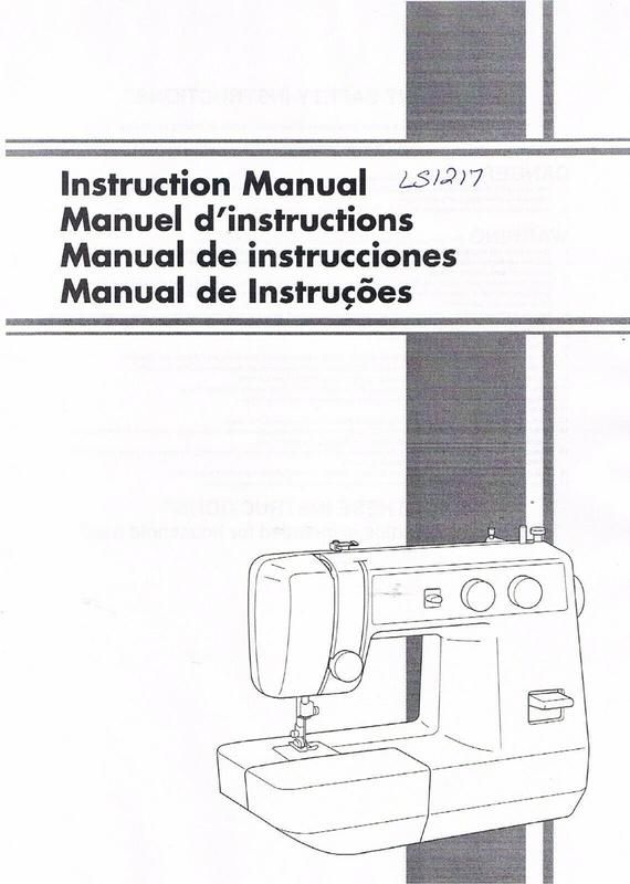 Pin On Brother 1217 Sewing Machine Manual